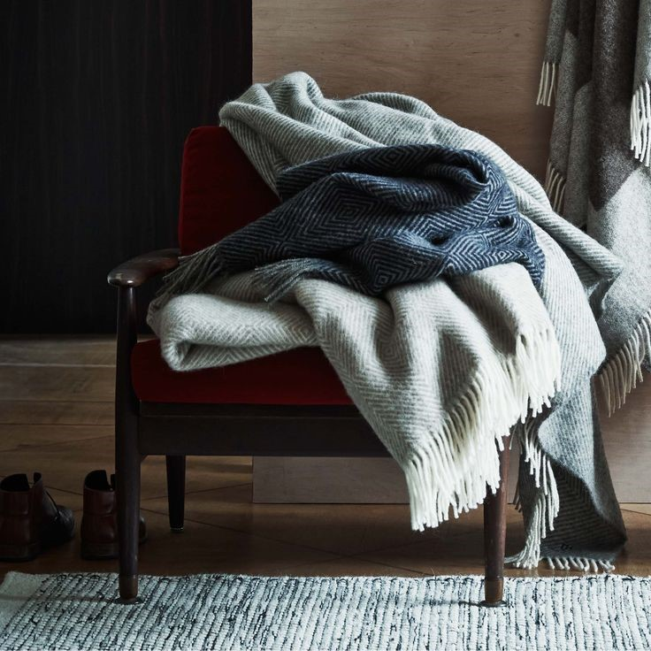 Layer up with Throws and Blankets