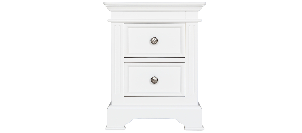 Appleton 2 Drawer Bedside Cabinet Main Image
