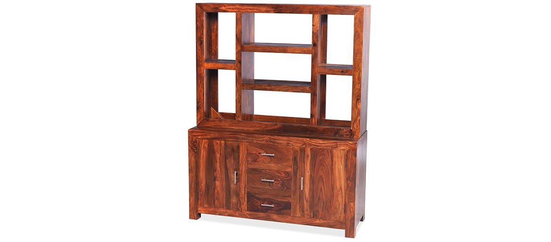 Cube Sheesham Large Dresser Quercus Living