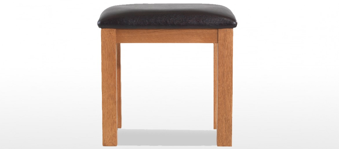 Marton Oak Dressing Table Stool