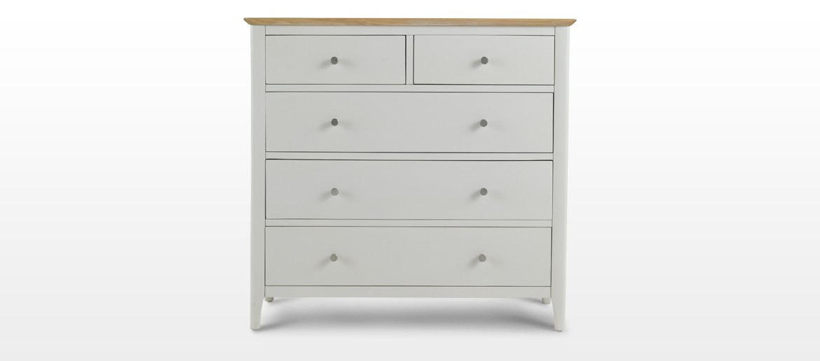 Merideth Painted 2 Over 3 Chest Drawers