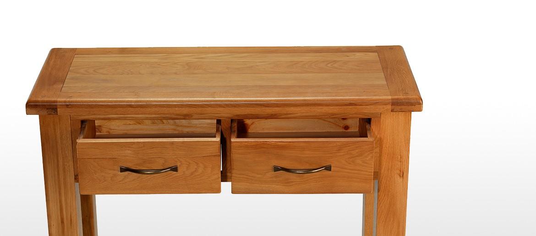 Barham Oak Console Table