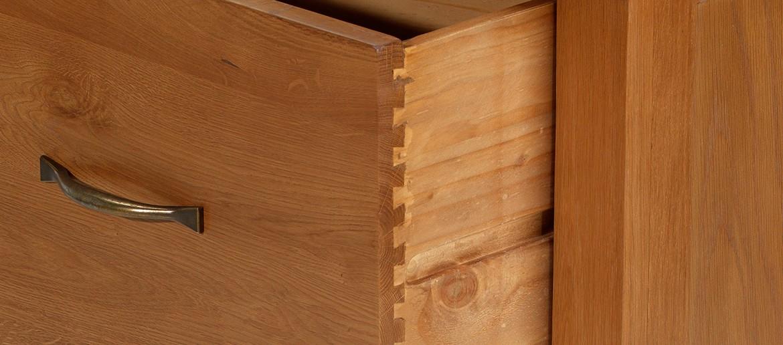 Barham Oak Office Filing Cabinet