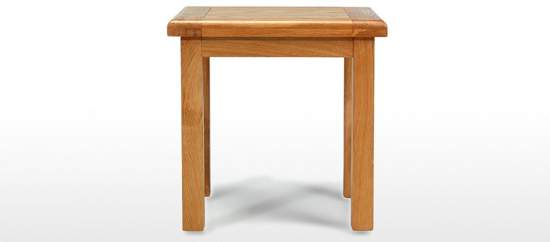 Barham Oak Lamp Table