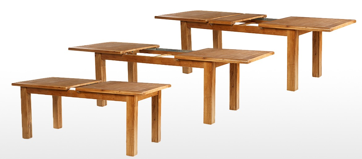 Barham Oak 180-250 cm Extending Dining Table and 10 Chairs