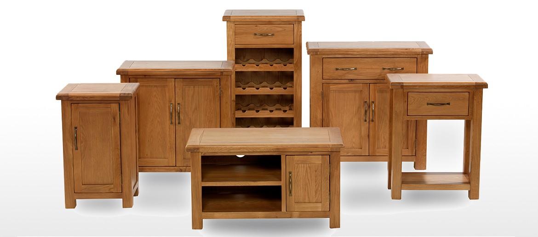 Barham Oak Petite Dresser