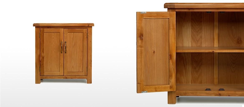Barham Oak Small Petite Cupboard