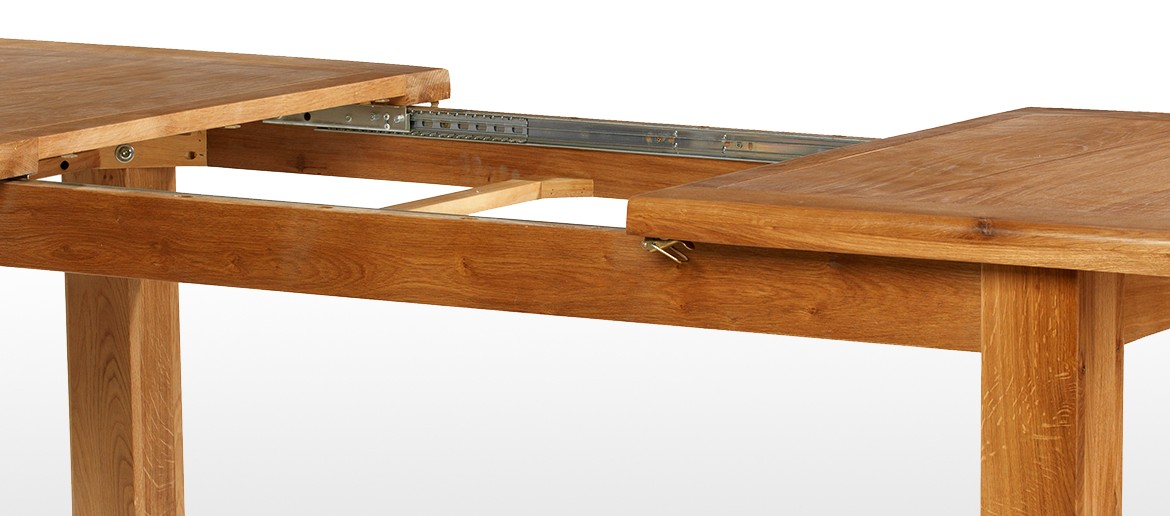 Barham Oak 120-150 cm Extending Dining Table