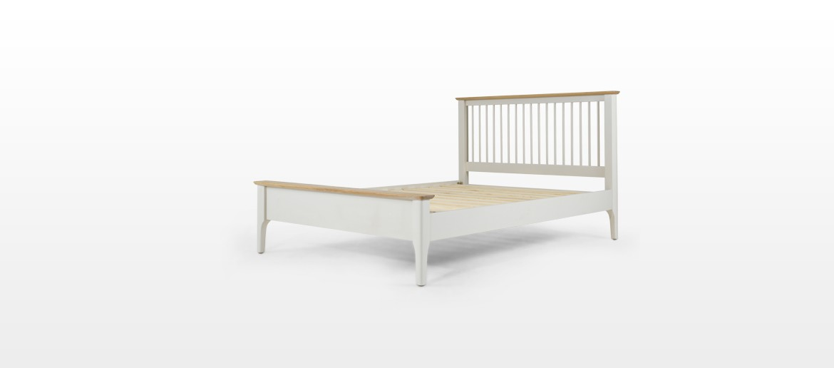 Merideth Painted King Size Bed (5')