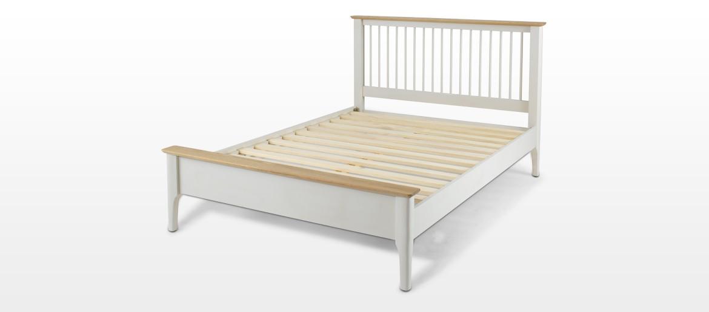 "Merideth Painted Double Bed (4' 6"")"