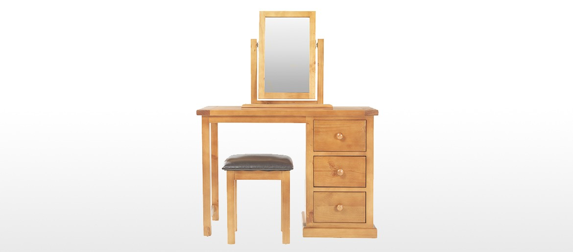Devon Pine Dressing Table Set