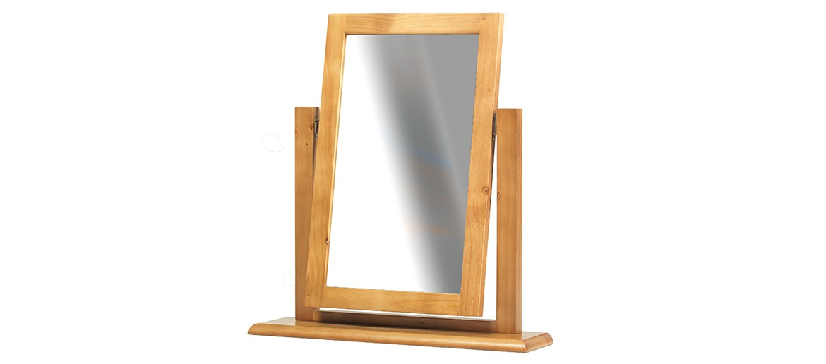 Devon Pine Dressing Table Vanity Mirror