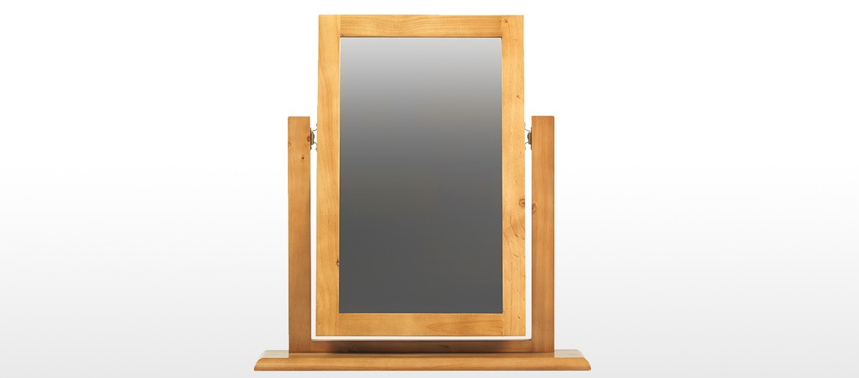 Devon Pine Dressing Table Vanity Mirror