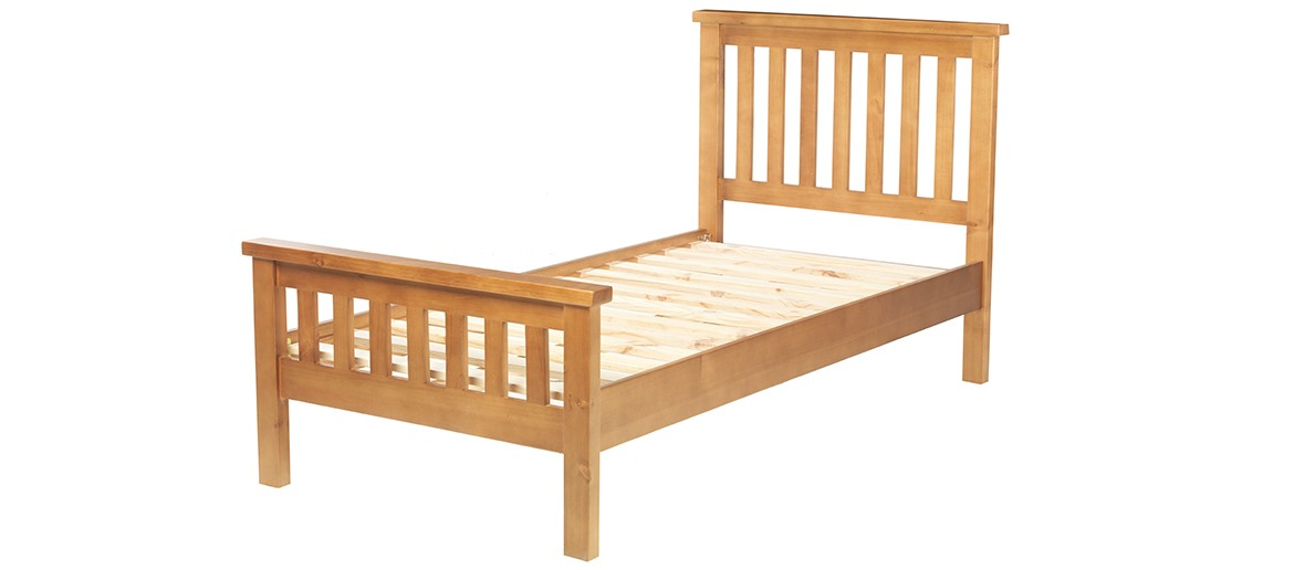 Devon Pine Single Bed (3')