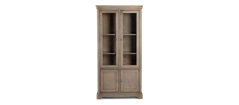 Kilmar Oak Living & Dining Glass Display Cabinet