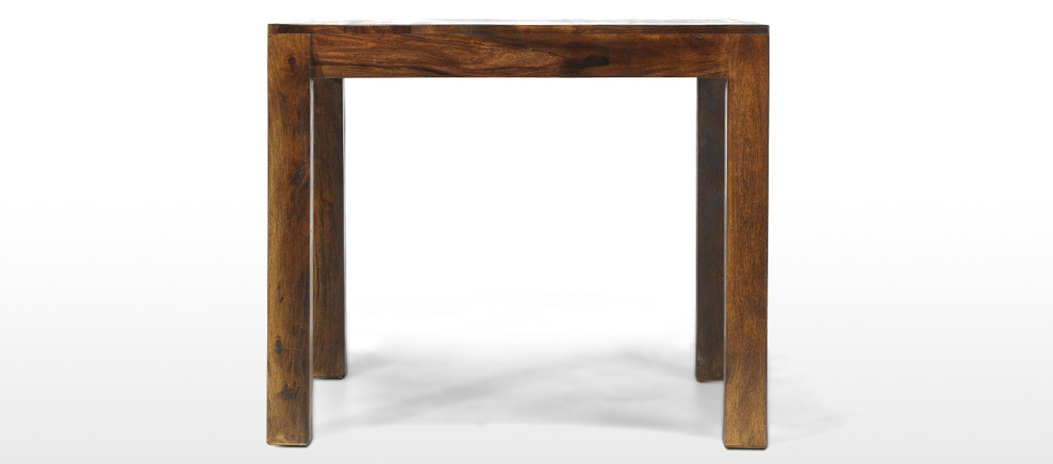 Cube Sheesham 90 cm Dining Table