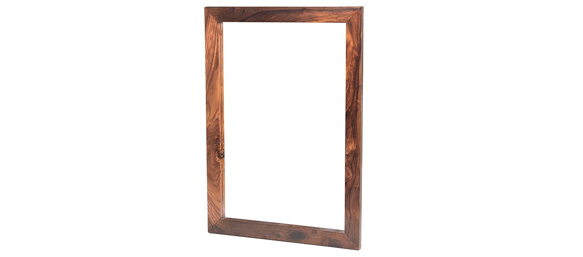 Cube Sheesham Large Mirror