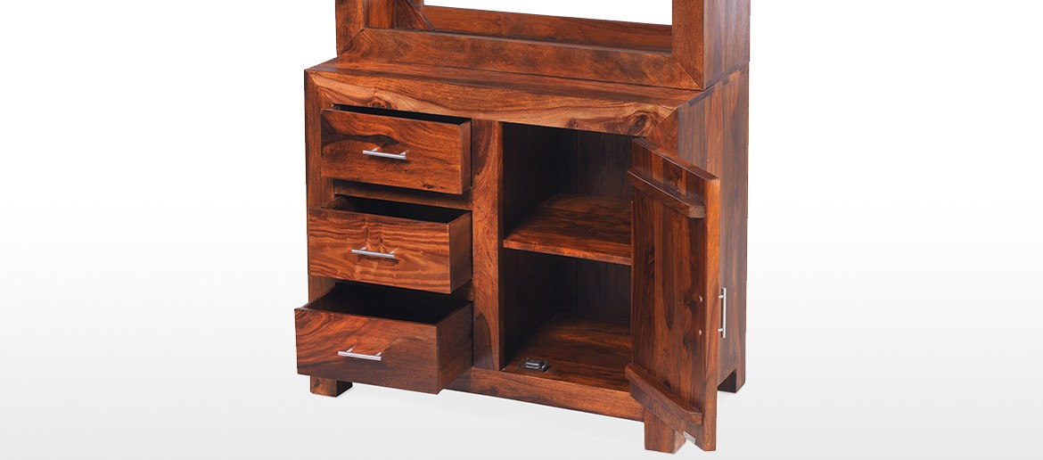Cube Sheesham Small Dresser