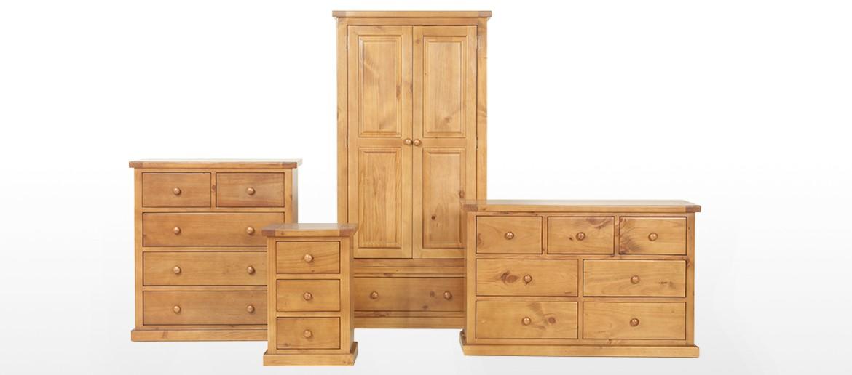 Devon Pine Dressing Table Set