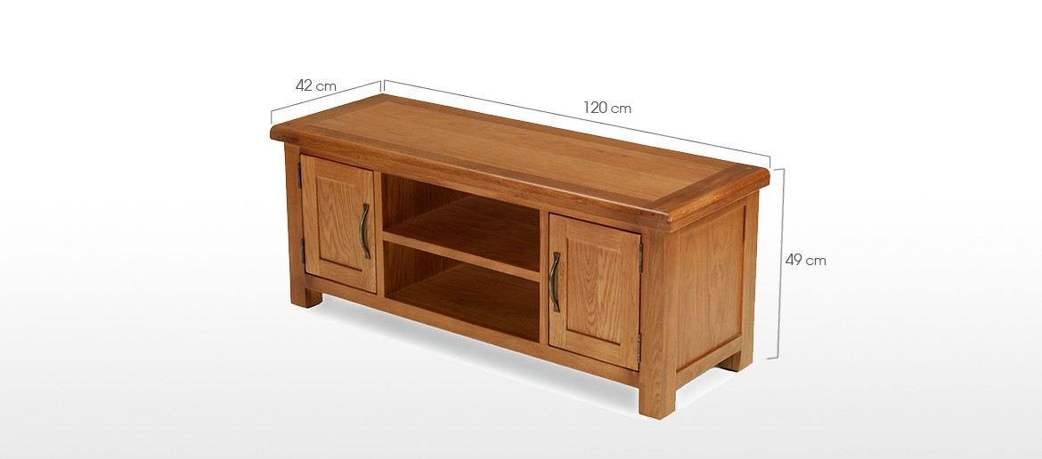 Barham Oak Widescreen TV Stand