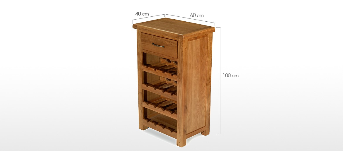 Barham Oak Small Wine Rack