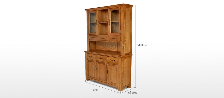 Barham Oak Medium Dresser