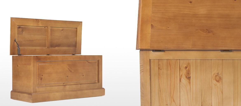 Essentials Pine Blanket Box