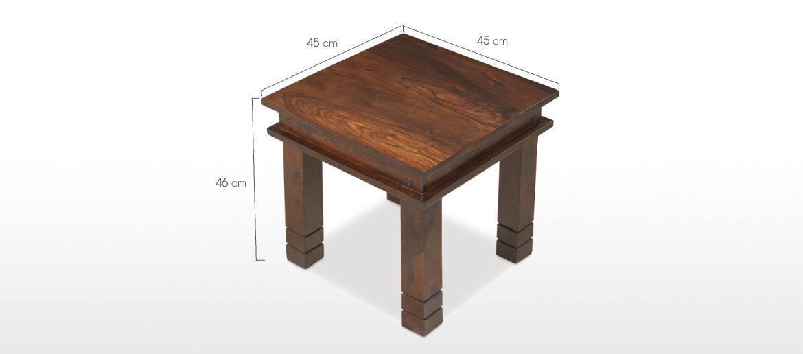 Jali Sheesham 45 cm Chunky Coffee Table