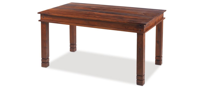 Jali Sheesham 120 cm Chunky Dining Table