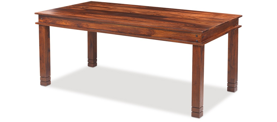 Jali Sheesham 200 cm Chunky Dining Table