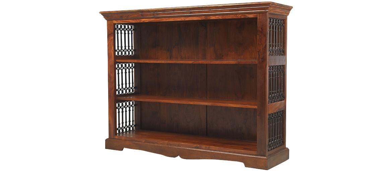 Jali Sheesham Low Bookcase