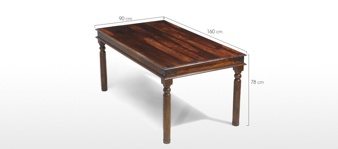 Jali Sheesham 160 cm Thakat Dining Table