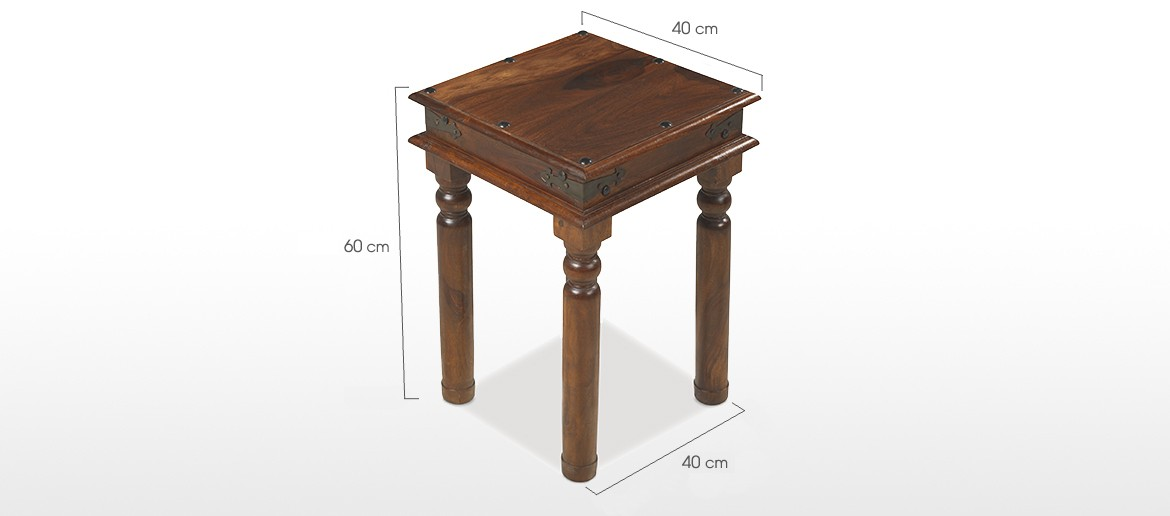 Jali Sheesham Thakat Lamp Table