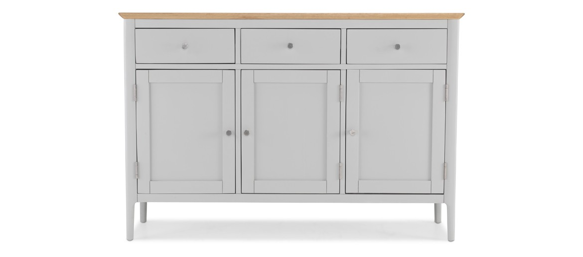 Alsager Painted Large Sideboard  3 Door/3 Drawer