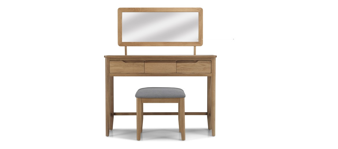 Kutaz Oak Dressing Table Set