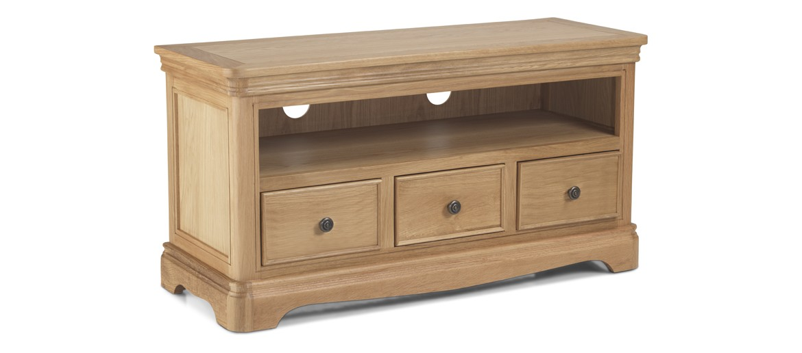 Kilmar Natural Oak Living & Dining TV Video Cabinet