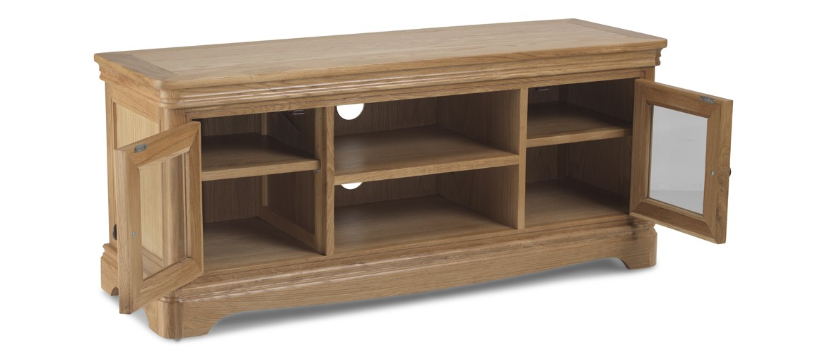 Kilmar Natural Oak Living & Dining Plasma TV Cabinet