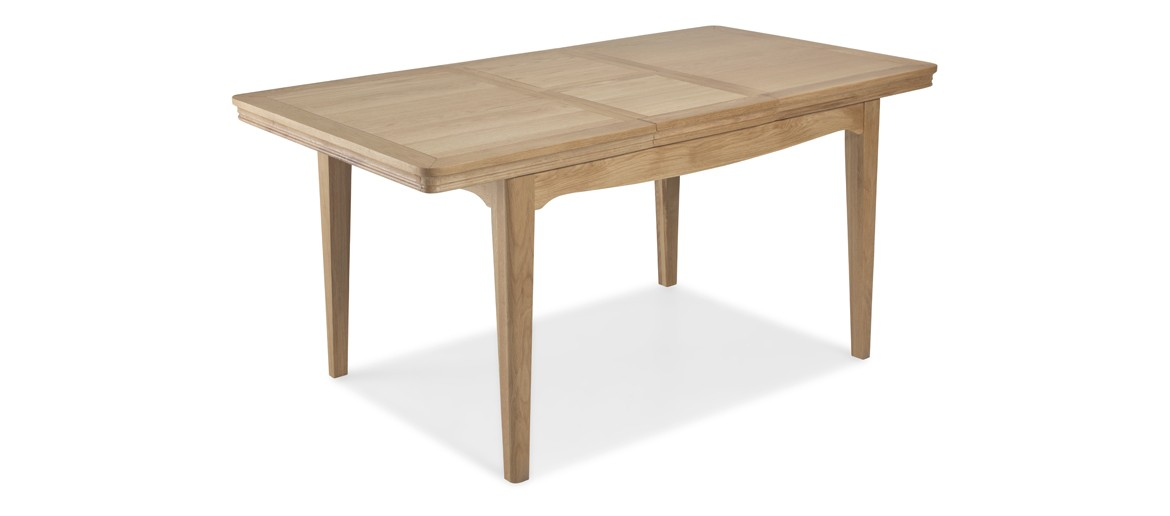 Kilmar Natural Oak Living & Dining Ext Dining Table 1500/2000