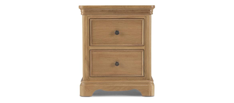 Kilmar Natural Oak Bedroom Bedside Cabinet