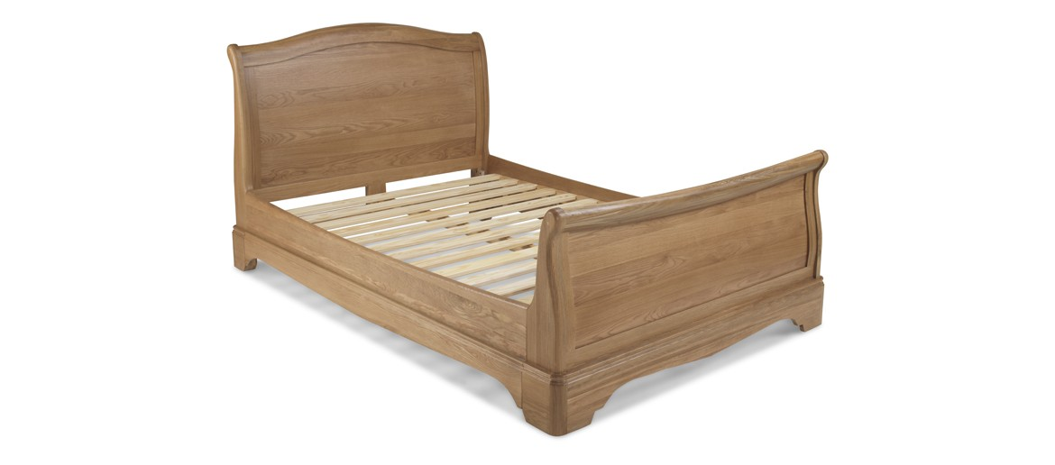 Kilmar Natural Oak Bedroom King Size Bed 5Ft