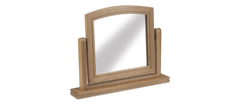 Kilmar Natural Oak Bedroom Dressing Mirror