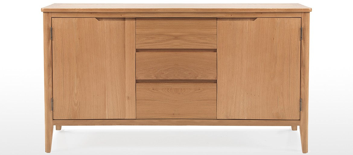 Eklund Oak Large Sideboard