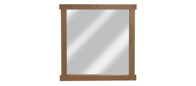 Holloway Rough Sawn Oak Mirror