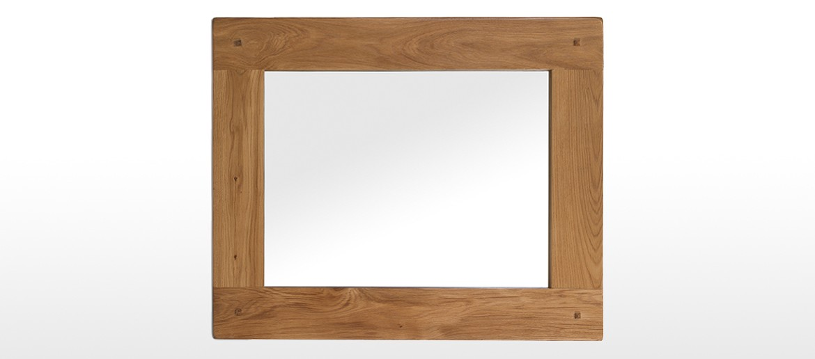 Rustic Oak Mirror