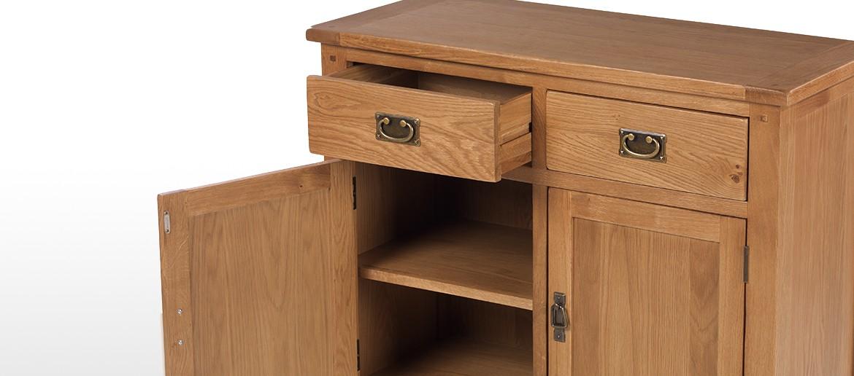 Rustic Oak Standard Sideboard