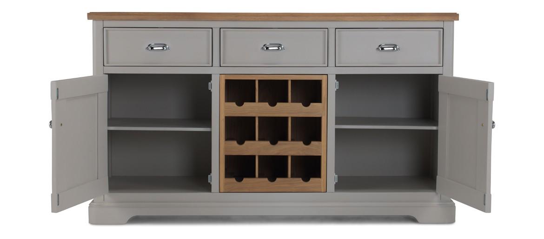 Aldington Painted Large Sideboard Wine Rack