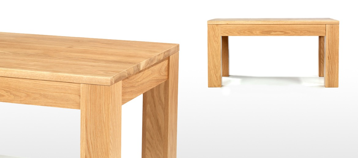 Cube Oak Coffee Table