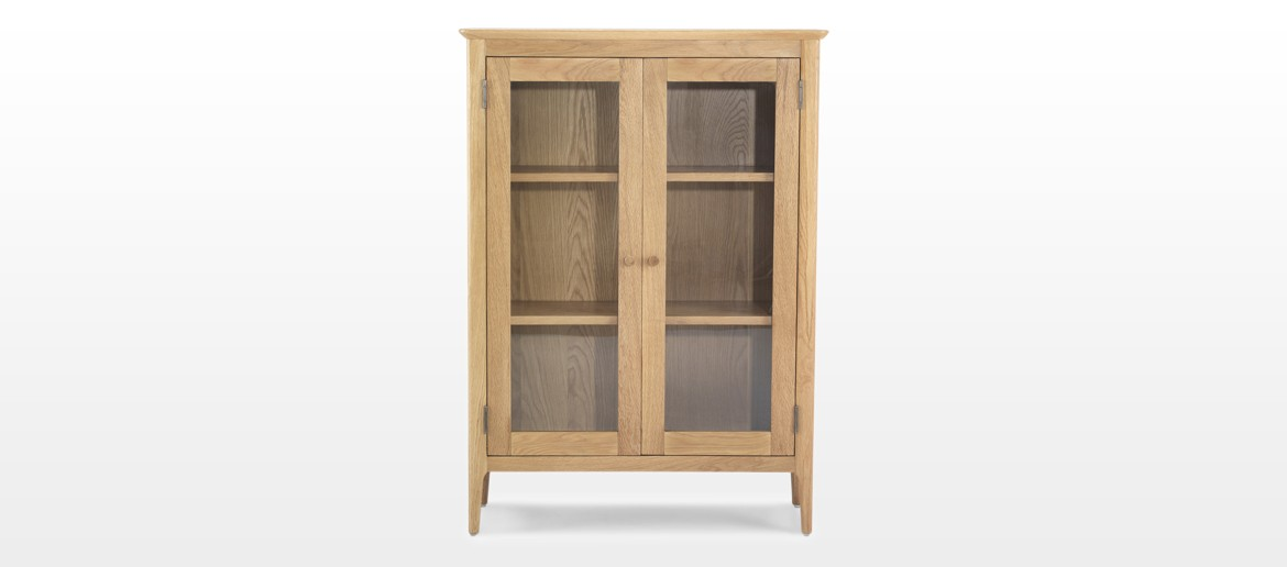 Hayman Oak Glazed Cabinet