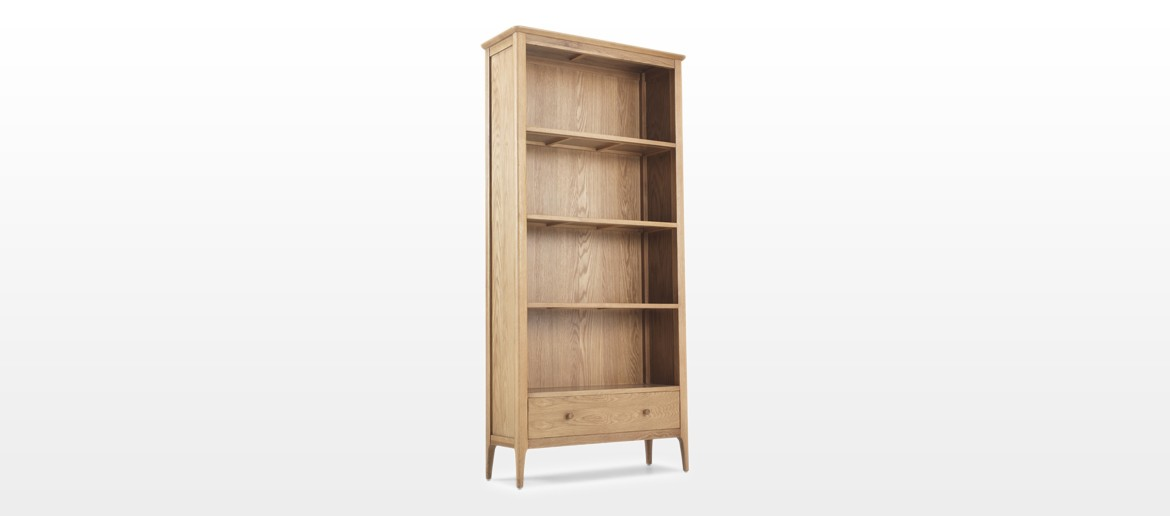 Hayman Oak Large Bookcase