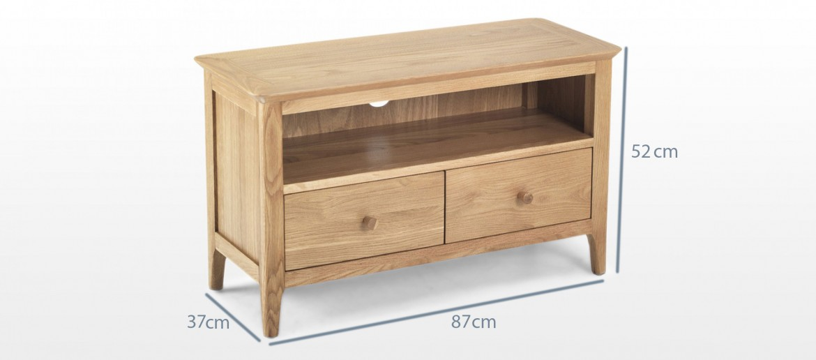 Hayman Oak TV Unit